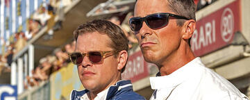 Matt Damon und Christian Bale in Le Mans 66