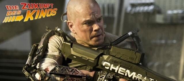 Matt Damon in Elysium