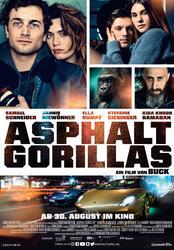 Asphaltgorillas Poster