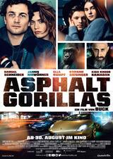 Asphaltgorillas - Poster