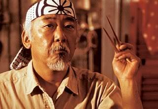 Karate Kid mit Pat Morita