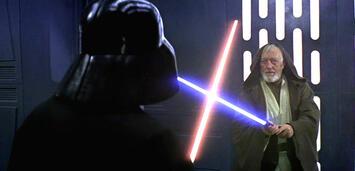 Bild zu:  Darth Vader gegen Obi-Wan