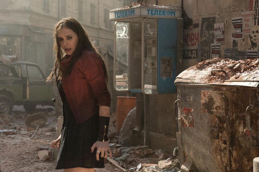 Marvel's The Avengers 2: Age of Ultron mit Elizabeth Olsen
