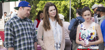 Scott Patterson, Lauren Graham und Alexis Bledel in Gilmore Girls: Ein neues Jahr