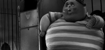 Bild zu:  Angst vorm Regisseur? Eine korpulente Figur aus Frankenweenie