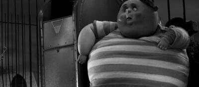 Angst vorm Regisseur? Eine korpulente Figur aus Frankenweenie