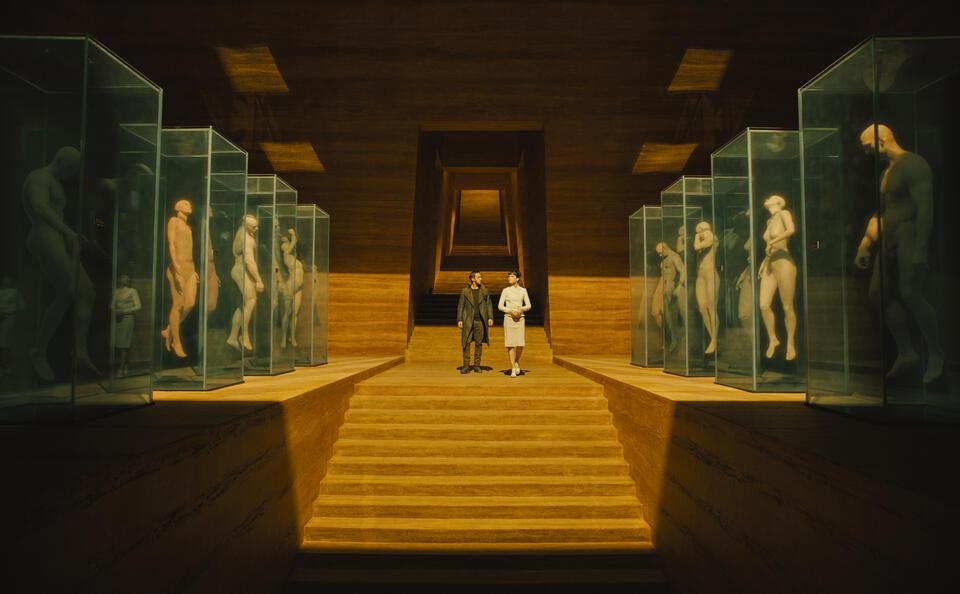 Blade Runner 2049 mit Ryan Gosling und Sylvia Hoeks