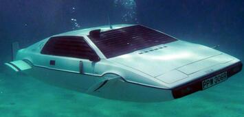 Bild zu:  Der amphibische Lotus Esprit aus Der Spion, der mich liebte
