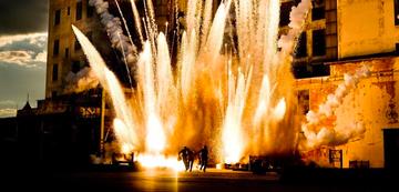 Feuerwerke lösen Glückshormone aus, auch bei Bay