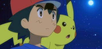 Bild zu:  Ash und Pikachu