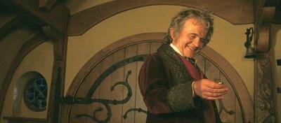 Der Hobbit Bilbo Beutlin in Der Herr der Ringe