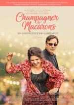 Champagner & Macarons - Ein unvergessliches Gartenfest Poster