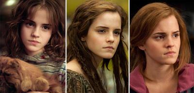 Emma Watson in Harry Potter und der Gefangene von Azkaban, Noah und Harry Potter und die Heiligtümer des Todes 2