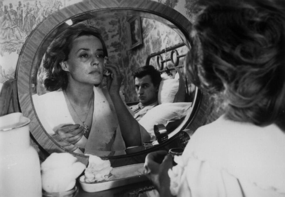 Jules und Jim mit Jeanne Moreau