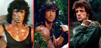 John Rambo im Wandel der Zeit