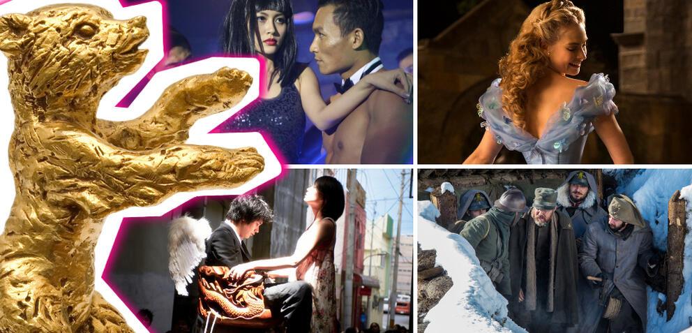 Im Urhzeigerisinn: Unsere sonnigen Tage, Cinderella, Chasuke's Journey, Greenery will Bloom Again