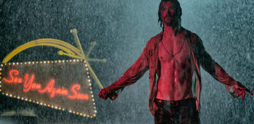 Hemsworth in Bad Times at the El Royale: Durchnässt