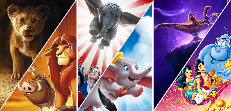 Kommende Realverfilmungen: Remakes von Disney
