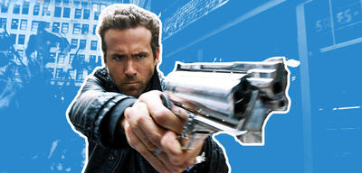 Ryan Reynolds in R.I.P.D. - Rest in Peace Department