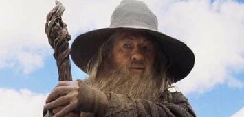 Bild zu:  Ian McKellen als Gandalf