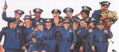 Die alten Police Academy-Rekruten