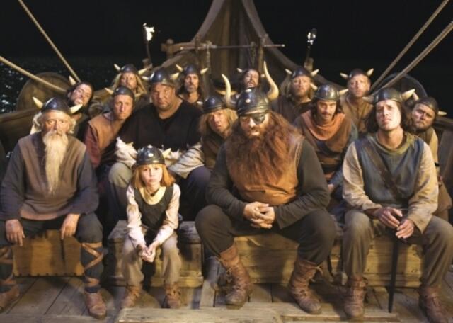 Eine Szene aus Wickie und die starken Männer.