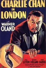 Charlie Chan in London - Poster