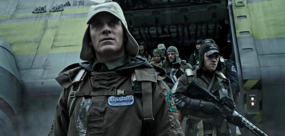 Alien: Covenant mitMichael Fassbender