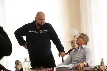 Vjekoslav Katusin & Eric Roberts - Kurze Besprechung der Szene