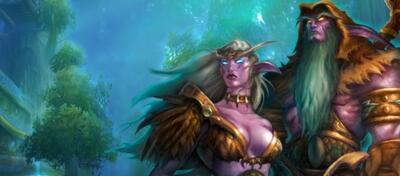 Figuren aus dem erfolgreichen Spiel World of Warcraft