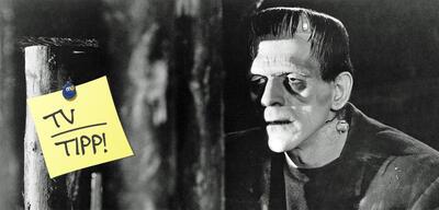 Frankenstein (1931):Boris Karloff als Frankensteins Monster