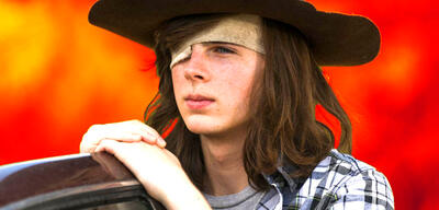 Chandler Riggs als Carl Grimes in The Walking Dead