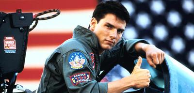 Tom Cruise noch als junger Maverick