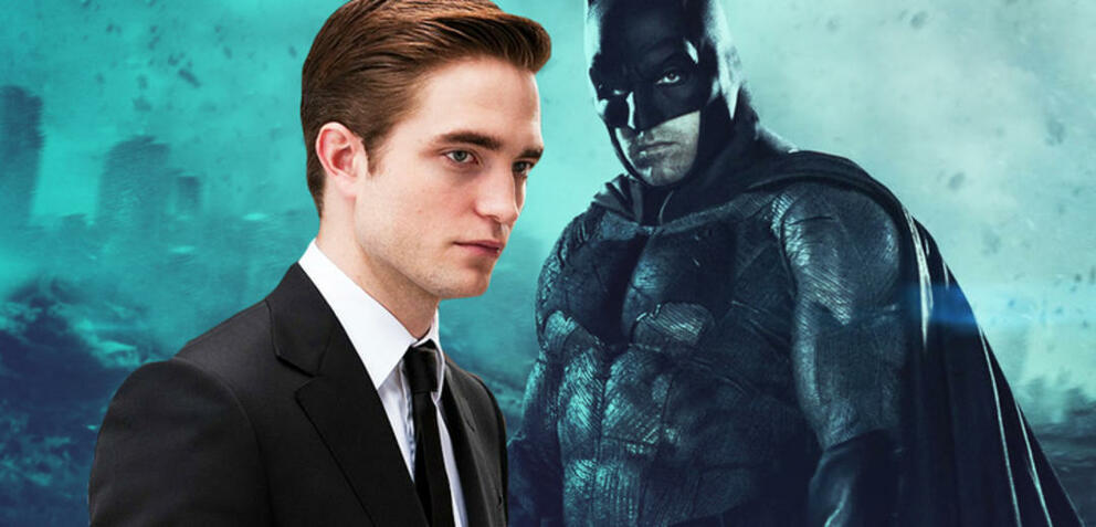 Robert Pattinson und Batman