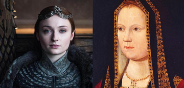 Sansa vs. Elizabeth of York