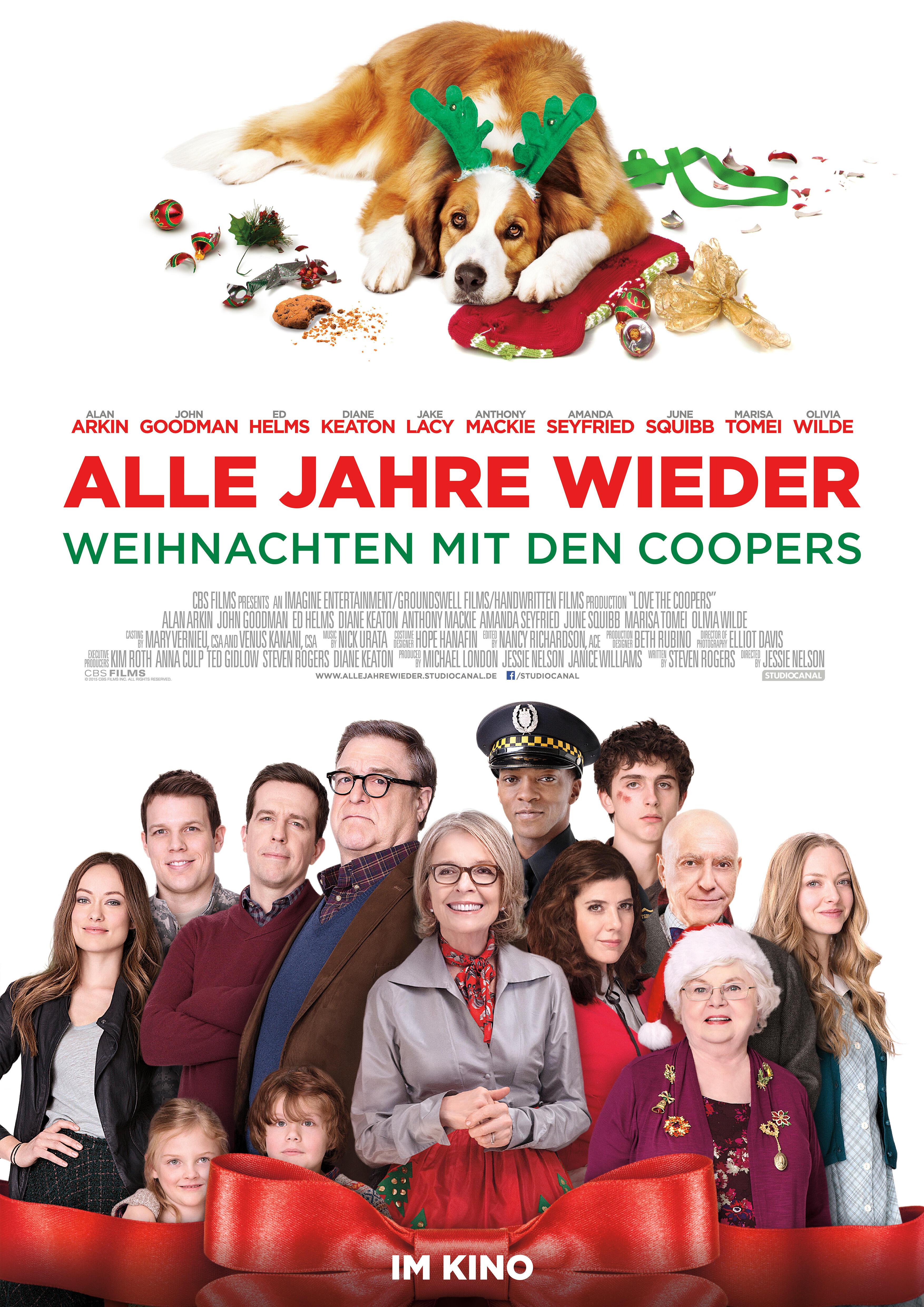 Alle Jahre wieder - Weihnachten mit den Coopers | Film 2015 ...