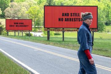 Gehört zu den großen Favoriten: Three Billboards Outside Ebbing, Missouri.