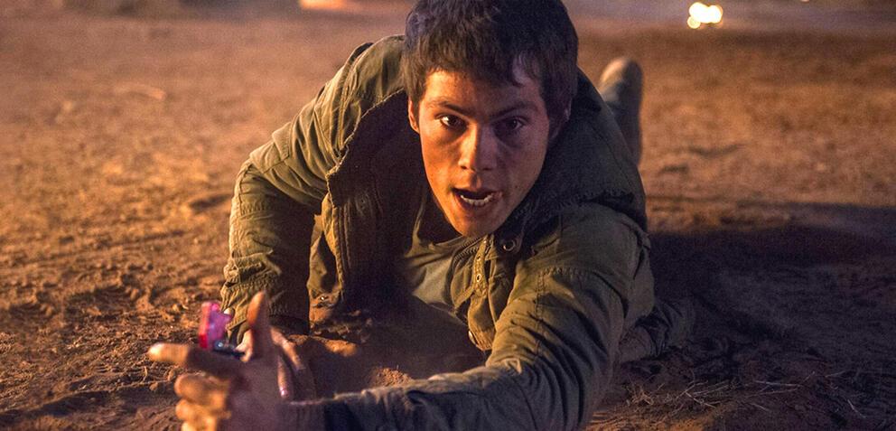 Dylan O'Brien in Maze Runner 2