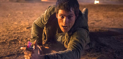 Dylan O'Brien in Maze Runner 2