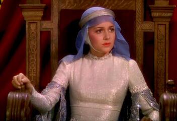 Olivia de Havilland in Robin Hood, König der Vagabunden