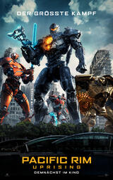 Pacific Rim 2: Uprising - Poster