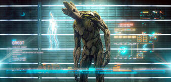 Groot (Vin Diesel) aus Guardians of the Galaxy
