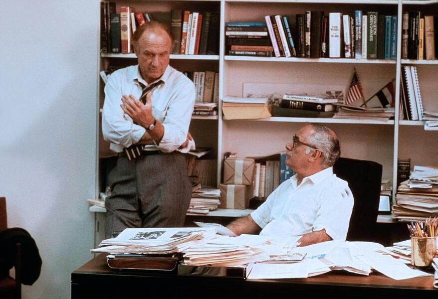 Die Unbestechlichen mit Dustin Hoffman und Martin Balsam
