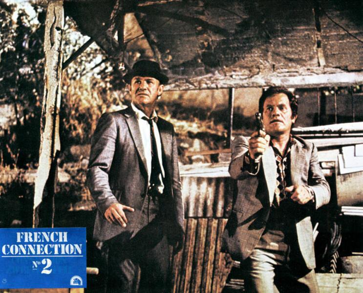 French Connection 2 mit Gene Hackman und Jean-Pierre Castaldi - Bild 3 von 3