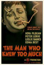 Der Mann, der zuviel wußte Poster