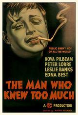 Der Mann, der zuviel wußte - Poster