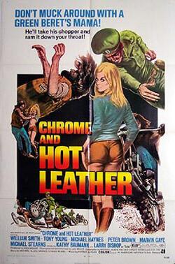 Chrom und heißes Leder