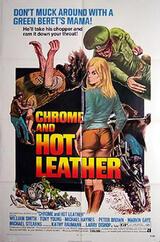 Chrom und heißes Leder - Poster