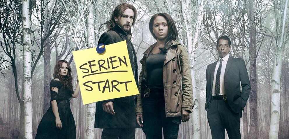 Sleepy Hollow:Abbie Mills (Nicole Beharie) und Ichabod Crane (Tom Mison) in Staffel 3