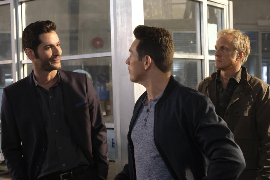Lucifer mit Tom Ellis und Kevin Alejandro